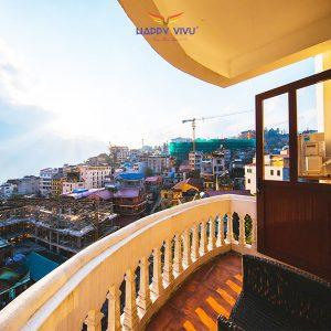 Combo tour du lịch Sapa Chapa Dew Hotel Balcon