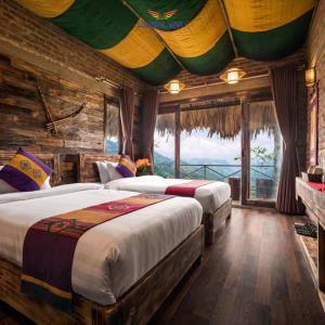 Combo tour du lịch Sapa Chapa Ecolodge Hotel - Bungalow Family