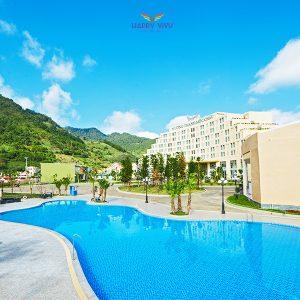 Combo tour du lịch Mộc Châu Mường Thanh Holiday Hotel - Hồ bơi