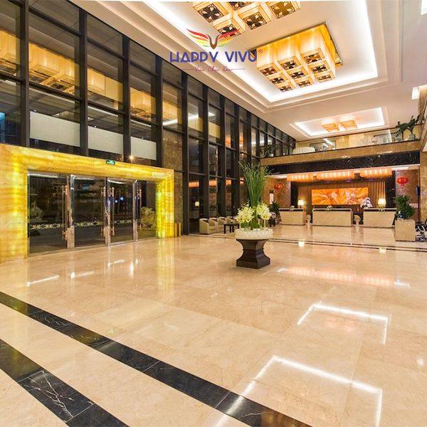 Combo tour du lịch Đà Nẵng Muong Thanh Luxury Hotel - Sảnh chung