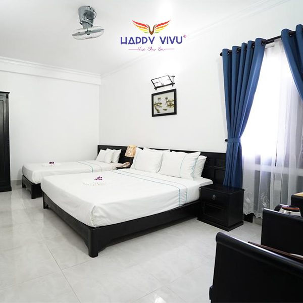 Combo tour du lịch Hội An Sunset Hotel - Triple bed Room