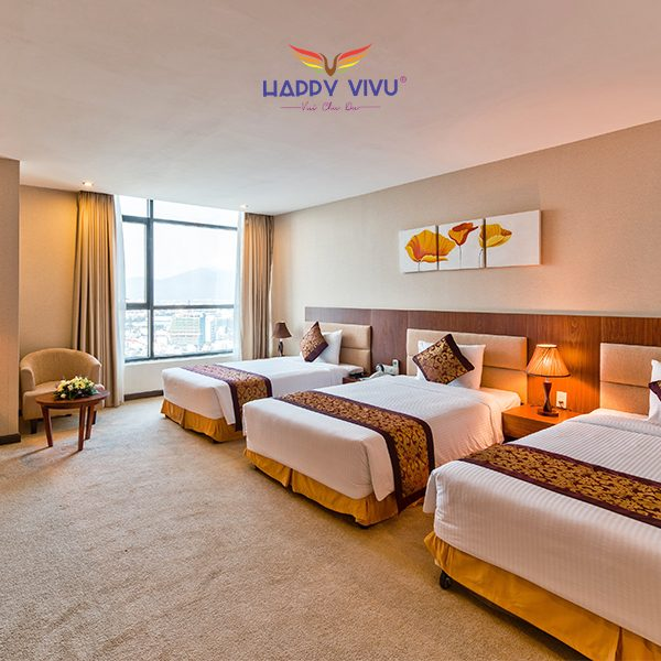 Combo tour du lịch Đà Nẵng Muong Thanh Luxury Hotel - Triple bed room