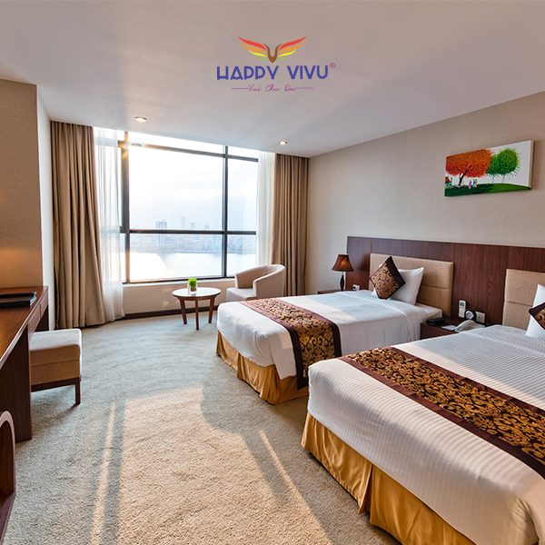 Combo tour du lịch Đà Nẵng Muong Thanh Luxury Hotel - Twin Bed Room