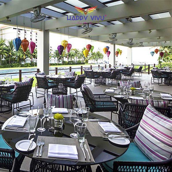 Combo tour du lịch Đà Nẵng Pullman Beach Resort - Nhà hàng