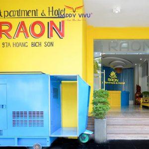 Combo tour du lịch Đà Nẵng Raon Apartment and Hotel