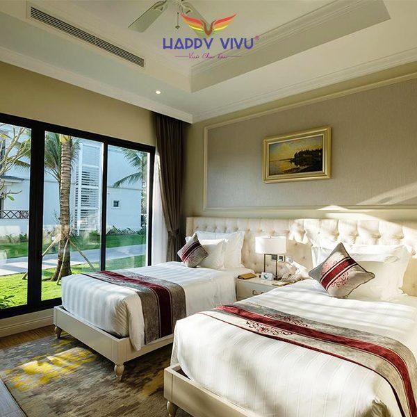 Combo tour du lịch Đà Nẵng Vinpearl Resort & Spa - Twins bed room