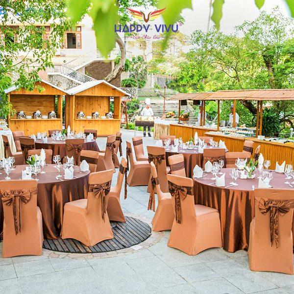 Combo tour du lịch Hạ Long Novotel Hotel - Nhà hàng