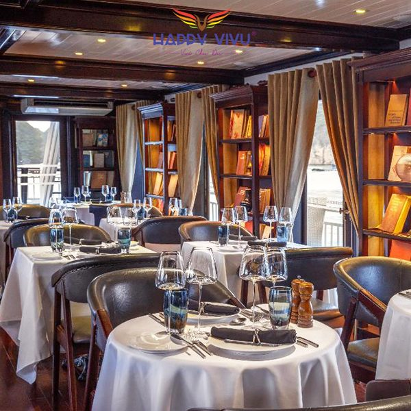 Combo tour du lịch Hạ Long Paradise Luxury Cruise - Nhà hàng