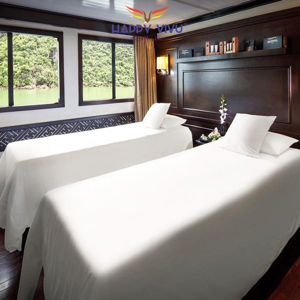 Combo tour du lịch Hạ Long Paradise Luxury Cruise - Spa