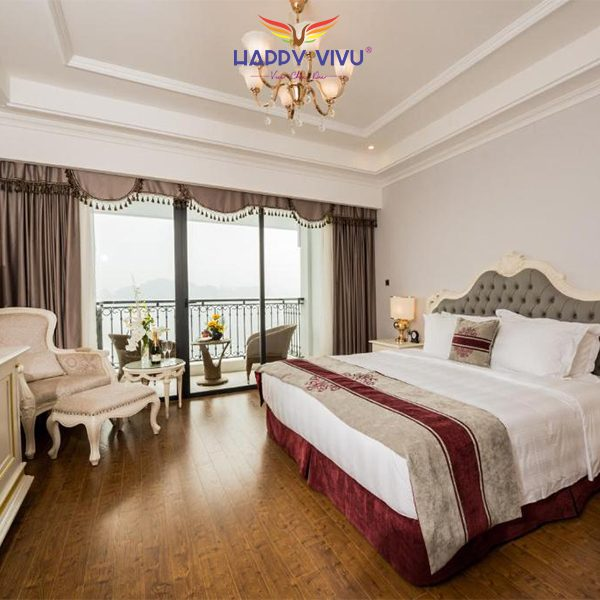 Combo tour du lịch Hạ Long Vinpearl Resort & Spa - Deluxe Double Room