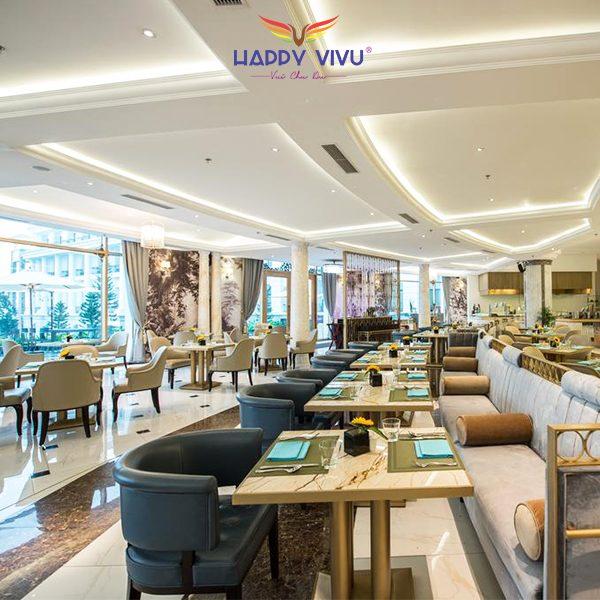 Combo tour du lịch Hạ Long Vinpearl Resort & Spa - Nhà hàng