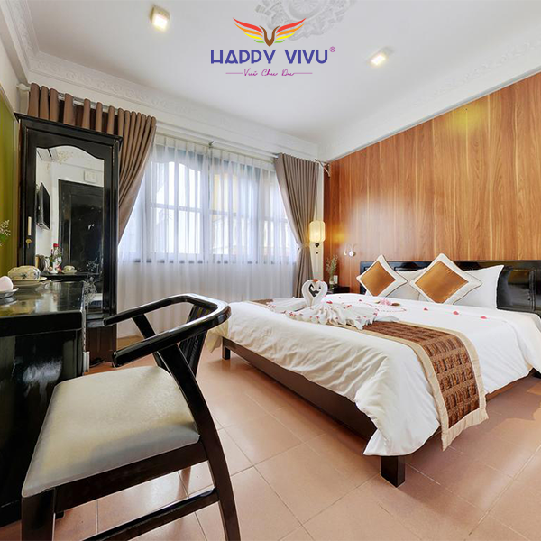 Combo tour du lịch Hội An Hải Yến Hotel + Double bed room