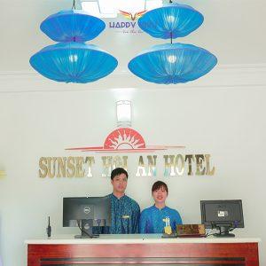 Combo tour du lịch Hội An Sunset Hotel - Lễ Tân