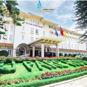 Combo tour du lịch Đà Lạt Du Parc Hotel Toàn Cảnh