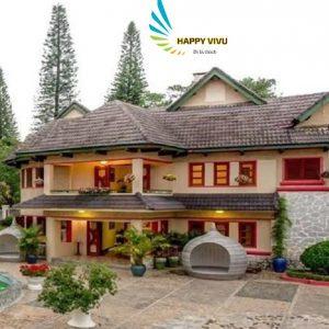 Combo tour du lịch Đà Lạt Monet Garden Villa Hotel Toàn Cảnh