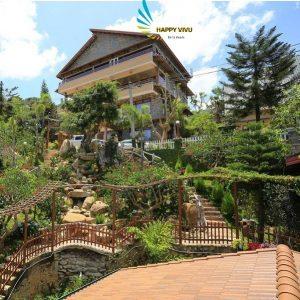 Combo tour du lịch Đà Lạt Zen Valley Resort Toàn Cảnh