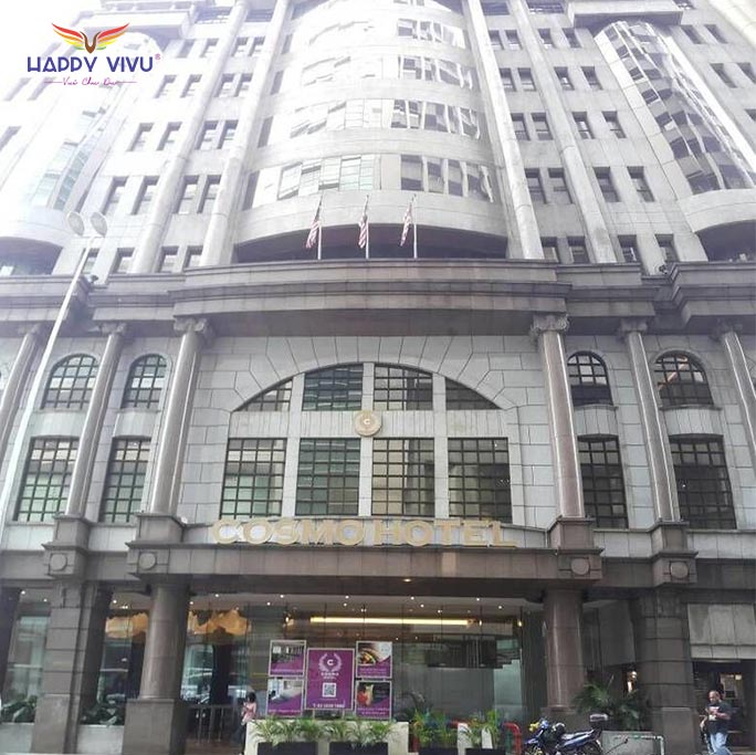 Combo tour du lịch Kuala Lumpur Malaysia Cosmo Hotel