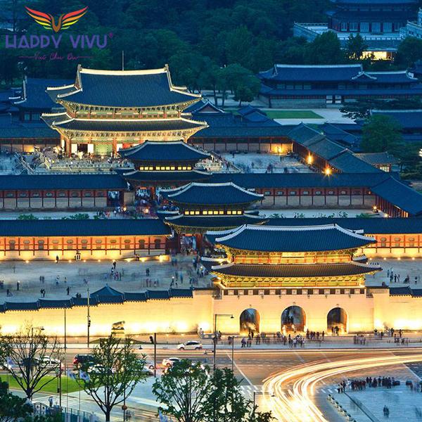 Tour Du Lịch Hàn Quốc Seoul - Nami Cung điện Gyeongbok