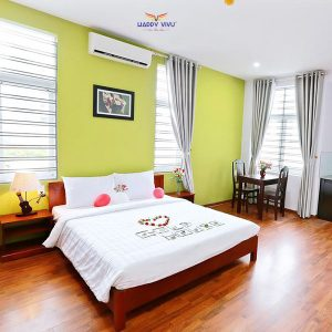 Combo tour du lịch Gold House Hotel And Apartment Double Room