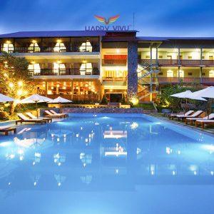 Combo tour du lịch Phú Quốc Azura Resort - Hồ bơi