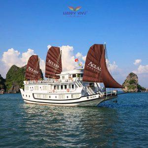 Combo tour du lịch Hạ Long Aclass Cruise Toàn cảnh