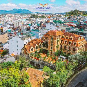 Combo tour du lịch Đà Lạt Saphir Hotel - Toàn cảnh