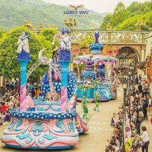 Tour Du Lịch Hàn Quốc Seoul - Nami 5 ngày 4 đêm - Everland