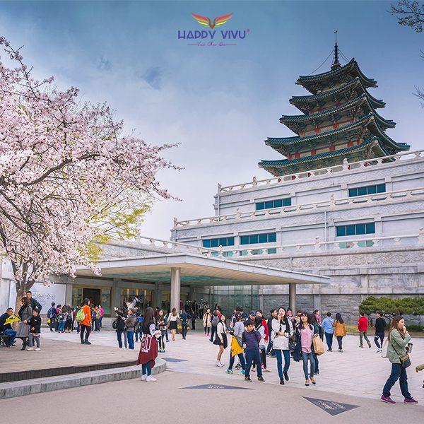 Tour Du lịch Hàn Quốc Seoul Nami Ski Resort - Bảo tàng dân gian quốc gia