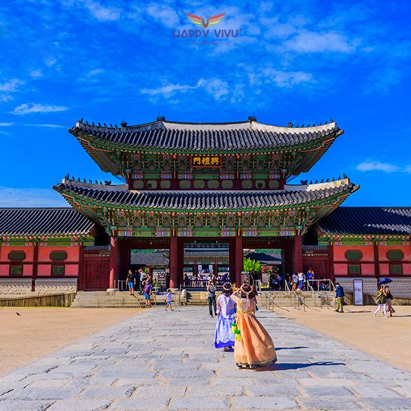 Tour Du lịch Hàn Quốc Seoul Nami Ski Resort - Cung điện Hoàng gia GyeongBokgung