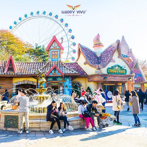 Tour Du lịch Hàn Quốc Seoul Nami Ski Resort -Everland