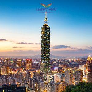 Tour du lịch Đài Loan Đài Bắc - Đài Trung - Cao Hùng - Tòa Taipei 101