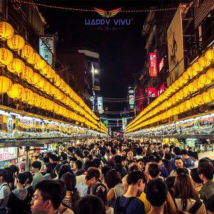 Tour du lịch Đài Loan Đài Trung - Đài Bắc - Chợ đêm Lục Hợp
