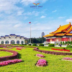 Tour du lịch Đài Loan Cao Hùng - Đài Bắc - Đài Trung - Quảng Trường Trung Chính
